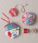 Vintage Hexagon Sewing Trio