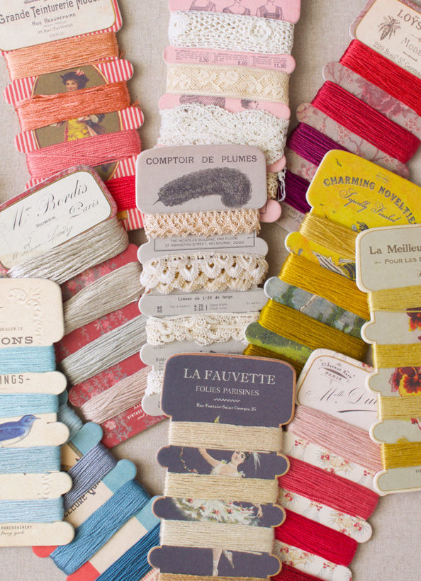 Thread & Ribbon Storage Cards_luccello-collection