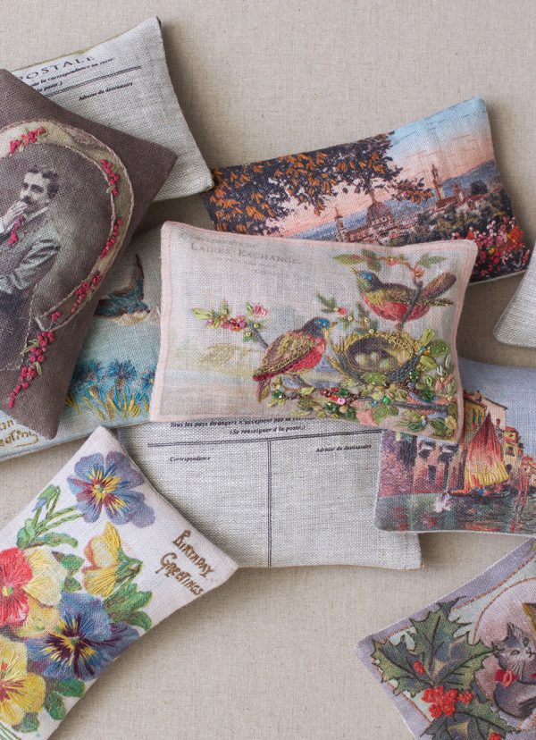 Vintage Postcard Scented Sachet-collection_luccello