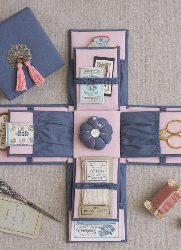 vintage-hexagon-sewing-box-luccello
