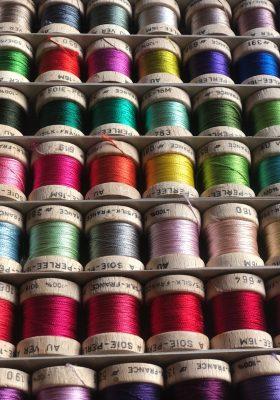 Au Ver à Soie Perlée Silk